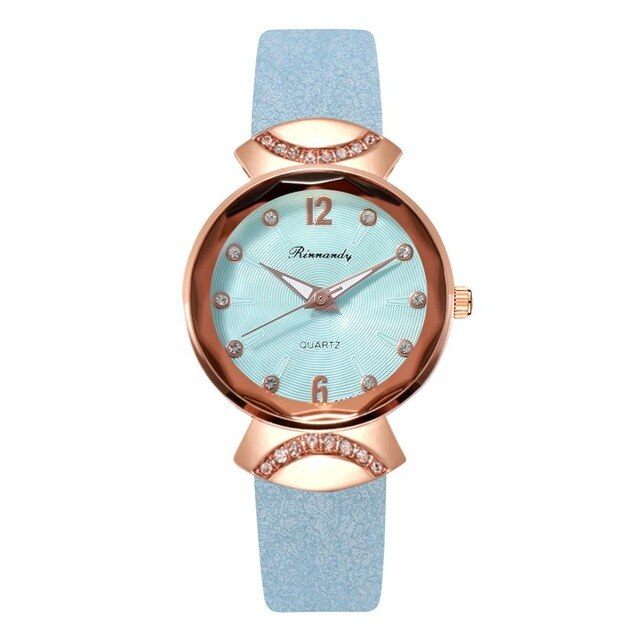 Luxury Bracelet Rose Gold Magnetic Watches For Women Simple Rhinestone Ladies Dress Quartz Clock Casual Wrist Watch Relogio