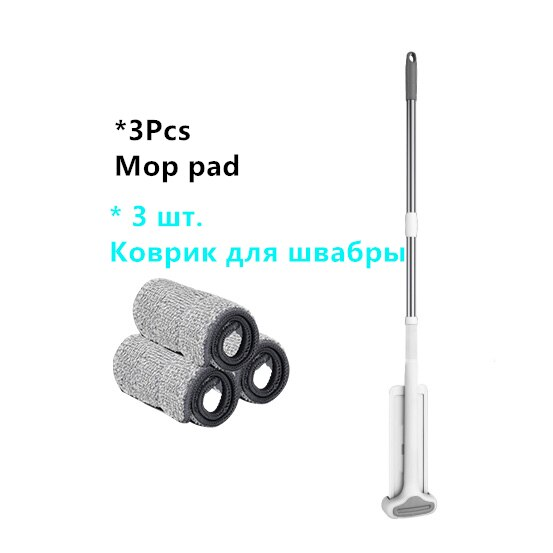 Magic Squeeze Mop Hands Free House Cleaning Floor Mop Smart Cleaner Versatile Flexible Sliding Type Sturdy Build