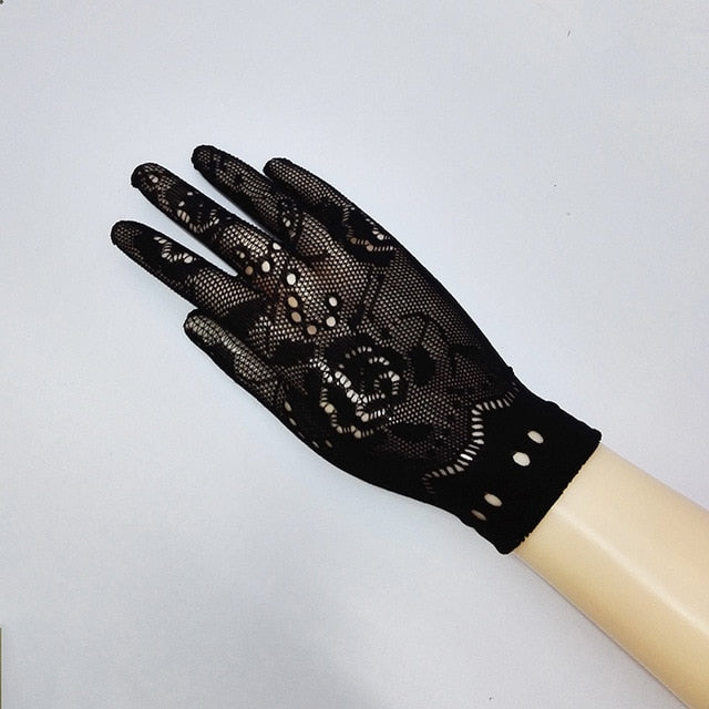 Transparent Gloves Mesh Liturgy