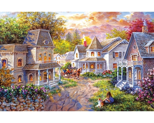 Puzzle 1000 Pieces Adult Puzzle Jigsaw Montessori Toys