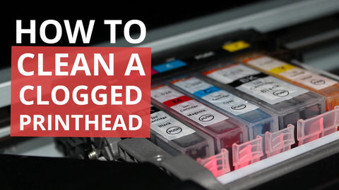 how to clean a clogged printhead sam ink