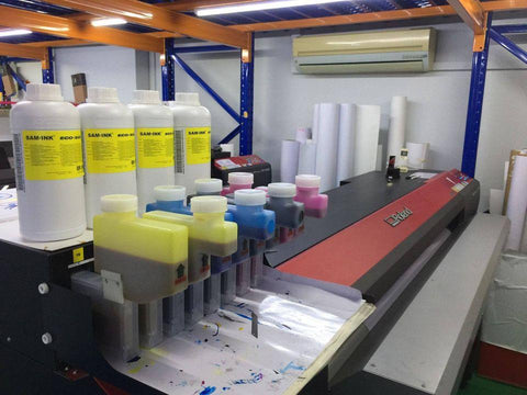 SAM★INK® Eco Solvent Bulk Ink System