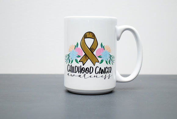 Childhood Cancer Awareness  15oz Mug