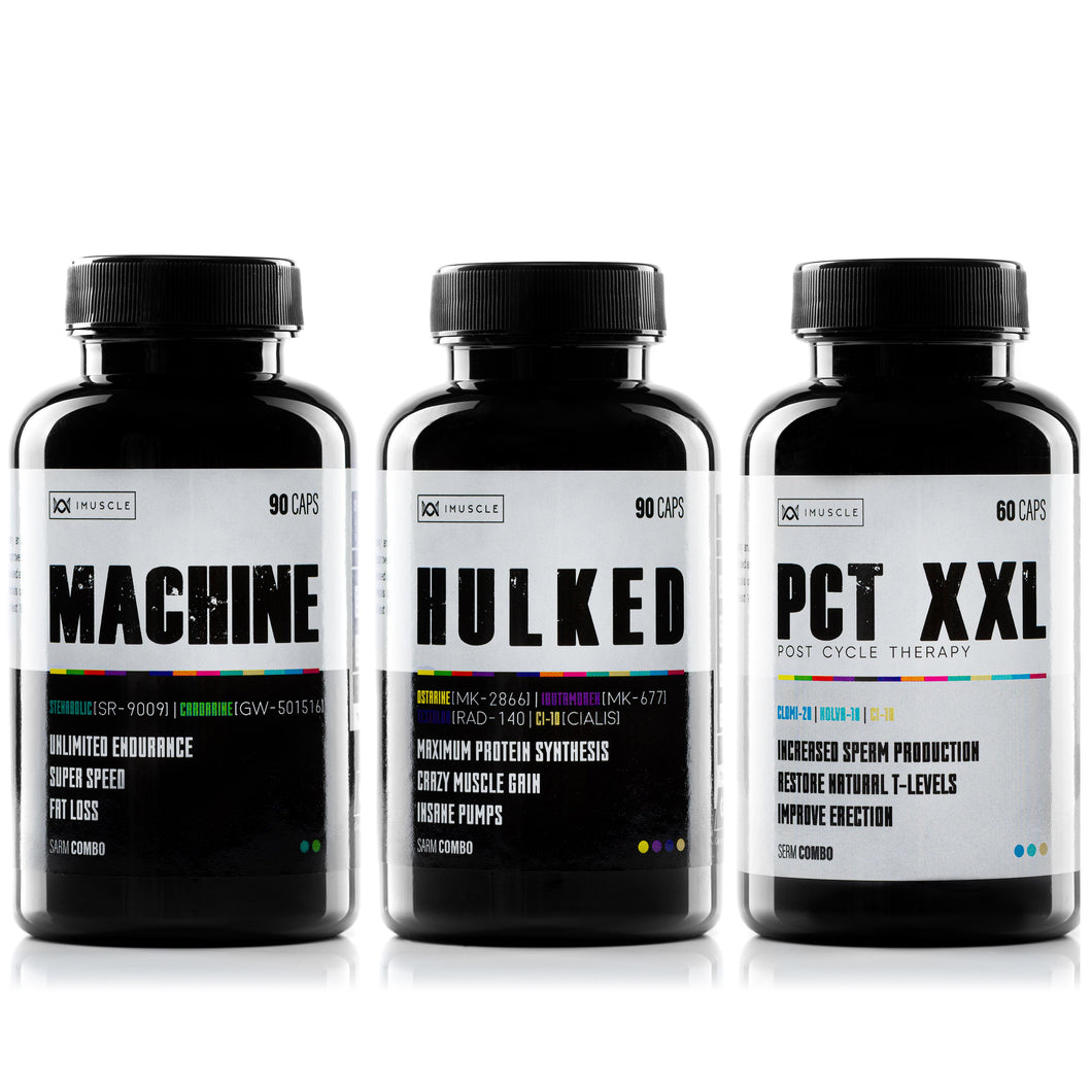 -40% OFF iMuscle STACK MACHINE, HULKED, PCT-XXL