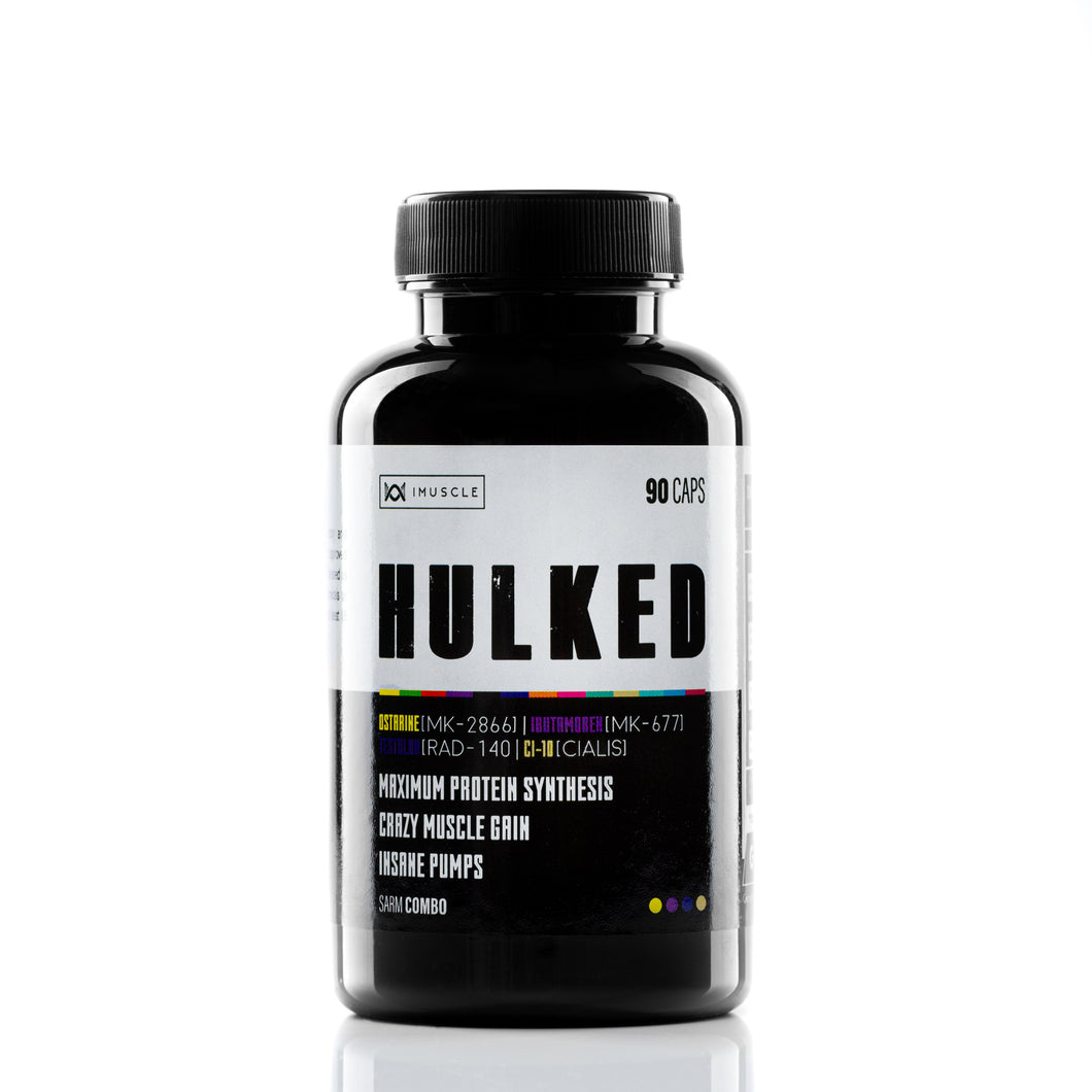 iMuscle HULKED | 90 capsules