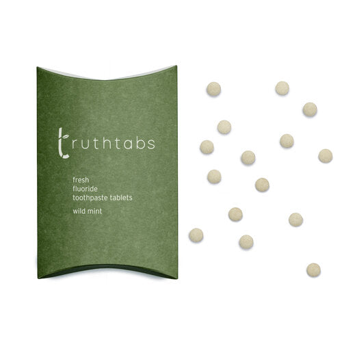 New! Truthtabs - Wild Mint Toothpaste Tablets. Three Month Supply