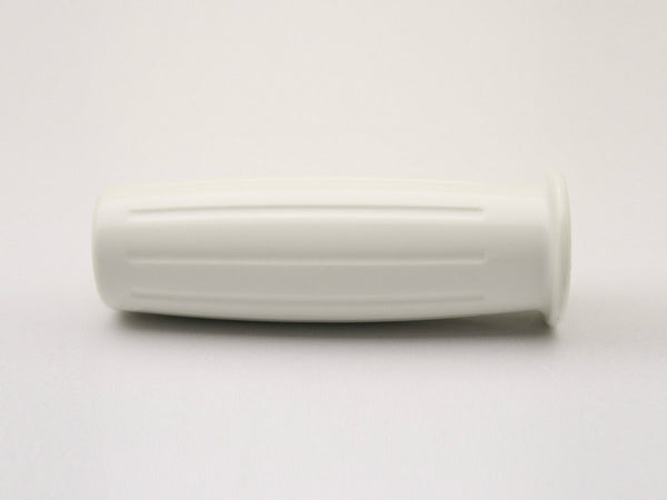 Grips, Early Barrel-style, White, 7/8""