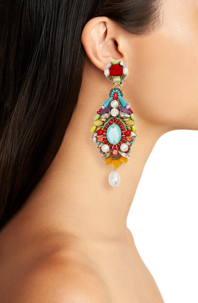 Ranjana Khan Pelican Earrings (30% Off)