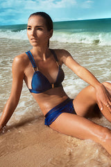 Blue Racer Back Bikini Set (Online Exclusive - U.P $80) Top and bottom sold separately