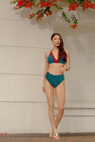 Bunga Triangle Halter Bikini Top - SKU3020A (Bra top and bottom sold separately)