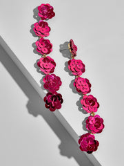 K.BLU Selects - Floral Sequin Earrings - 30% Markdowns