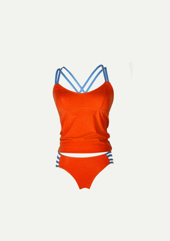 Holi Tankini Top- SKU 7018AB (Top and bottom sold separately)