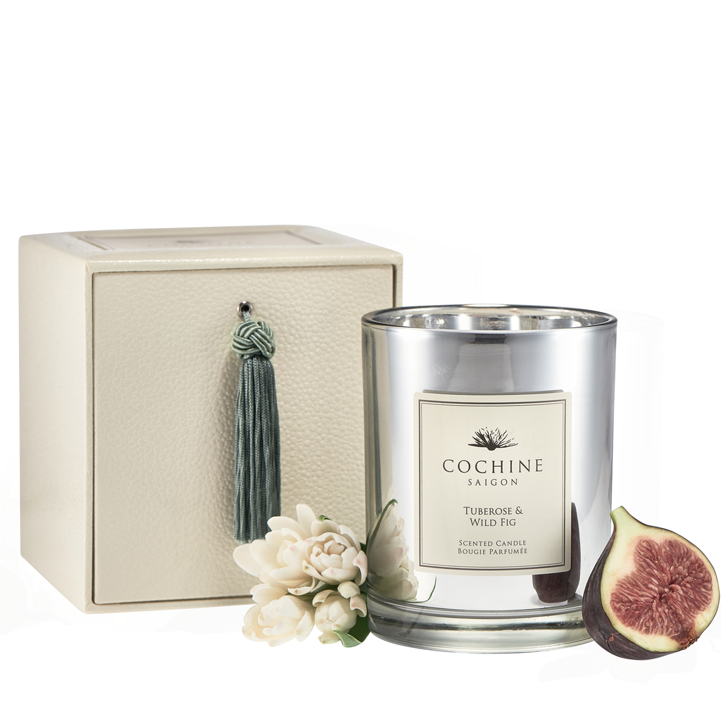Luxury Votive Candle - Tuberose & Wild Fig Candle