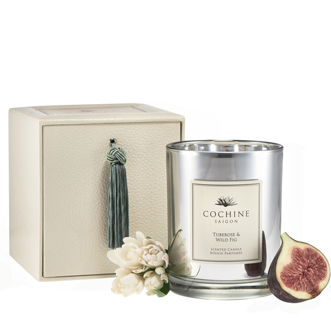 Tuberose & Wild fig candle