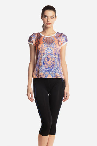 Coral Porcelain Blouse (U.P to 50% OFF)