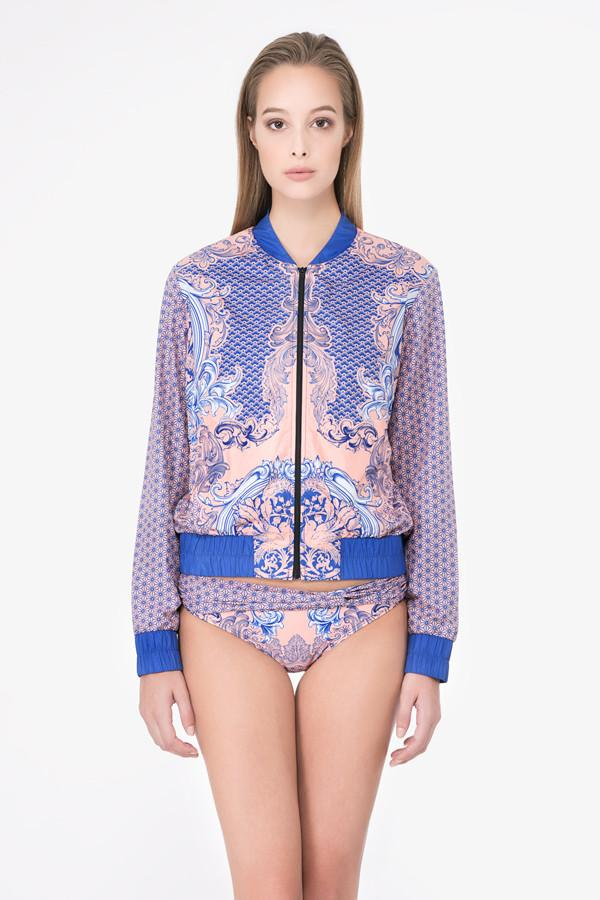 f8d0874a76ff5 Coral Porcelain Bomber Jacket (Limited Edition) - (Markdown-U.P  350 ...