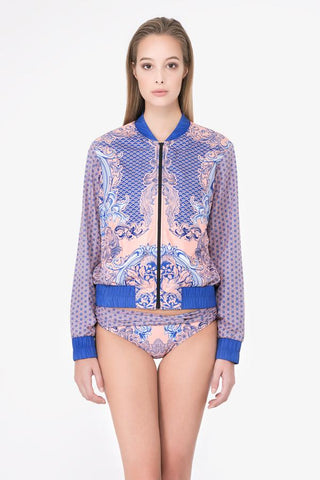 Coral Porcelain Bomber Jacket (Limited Edition)