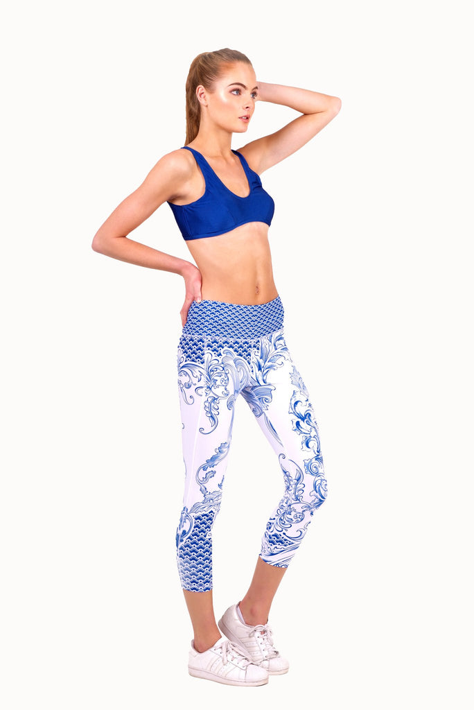 BLUE SPORTS BRA (Online Exclusive -U.P S$70)