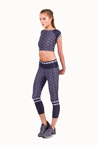 Henna Mehndi Chic Crop Top - (50% OFF-U.P $225)