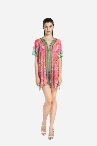 Indian Summer Vivid Kaftan