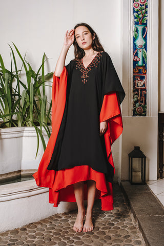 Ready To Wear - Layered Georget Kaftan