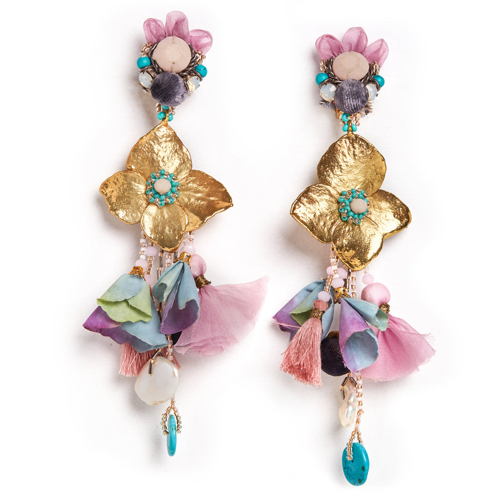 Ranjana Khan- Mermaid Clip-on Earrings
