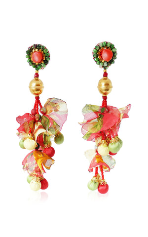 Ranjana Khan- Calendula Clip-on Earrings