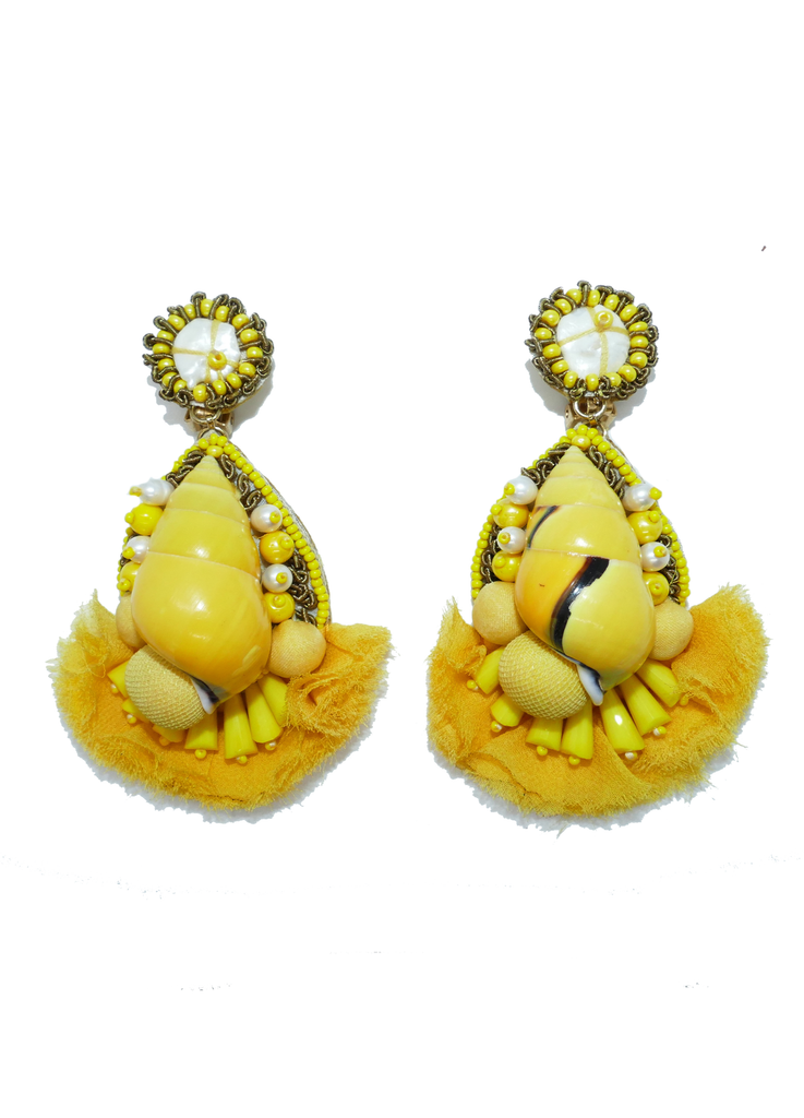 Ranjana Khan- Sunshine Clip-on Earrings