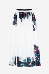 Orchid Maxi skirt with slit (Sizes available)