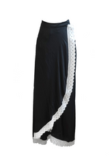RW19 - Cotton Satin Wrap Skirt RW1002 (ONLINE EXCLUSIVE- U.P $189)