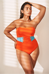 Holi Square Neck one piece- SKU 7020