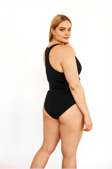 Curve-Black Tankini Bottom- 41001BZ -(Telegram exclusive)