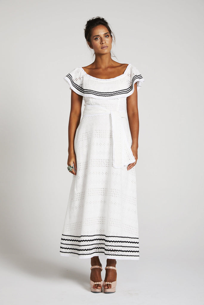 Binnywear - The Bossa Nova White Dress (30% OFF)
