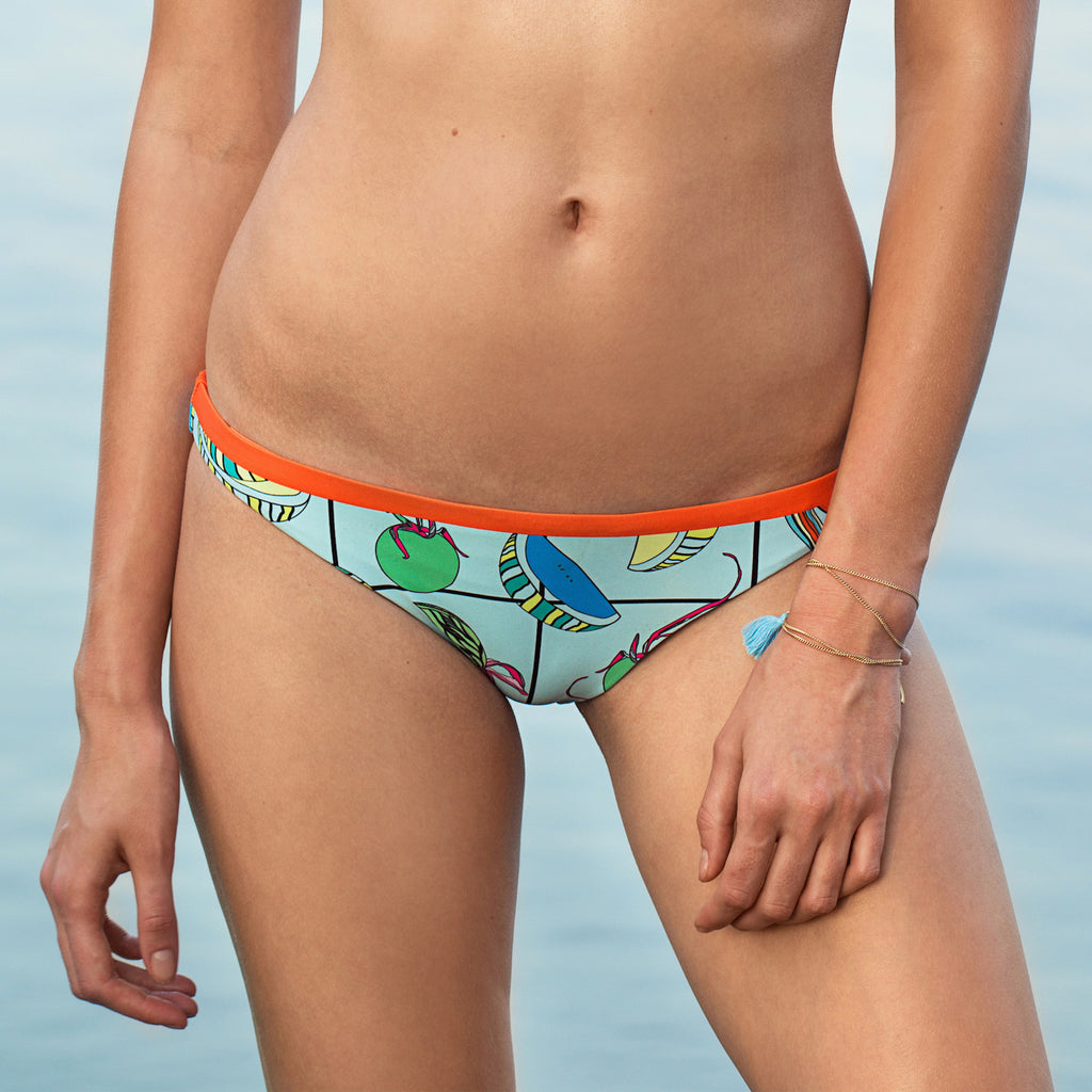 KENZILILY ELECTRO FRUITTI REVERSIBLE BLUE BOTTOM (ONLINE EXCLUSIVE)