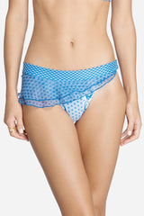 Print Racer Back Bikini Bottom- 1402B -(Telegram exclusive)