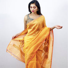 Load image into Gallery viewer, DOUBLE SHADED SAREE