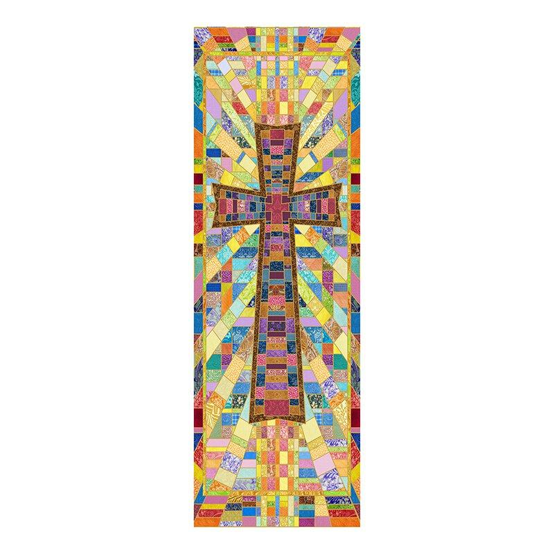 Cross Tapestry X-Stand Banner Banner Christian Brands Church