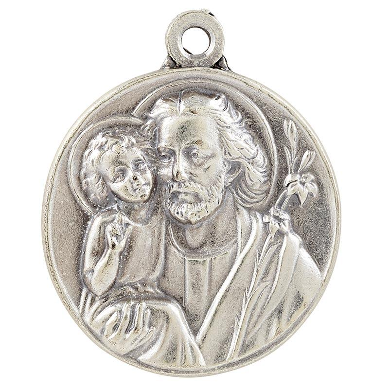 "St Joseph with 24"" Chain The Roman Catholic Store"