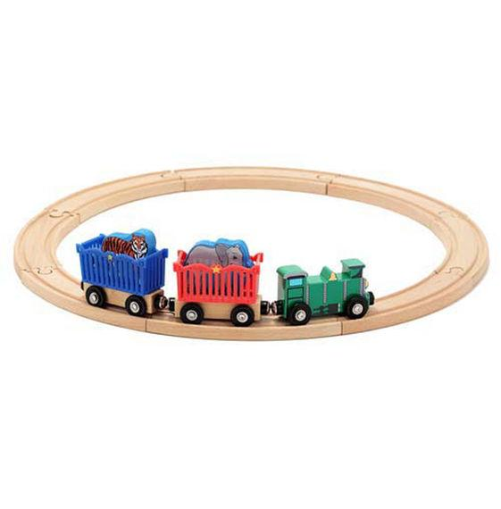 Melissa & Doug, Zoo Animal Train Set, Toys