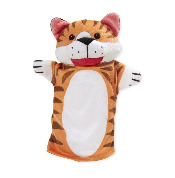 Melissa & Doug, Zoo Friends Hand Puppets, Toys