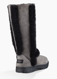 UGG Women Boots Sunburst Tall 5218 - Grey/Black