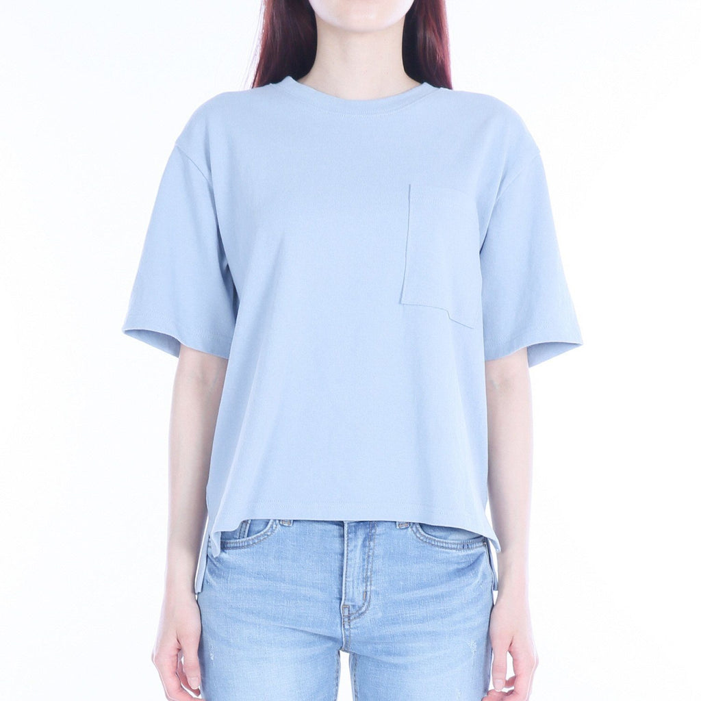 Siero Wear, Square-pocket half-sleeve T-shirt, women clothes