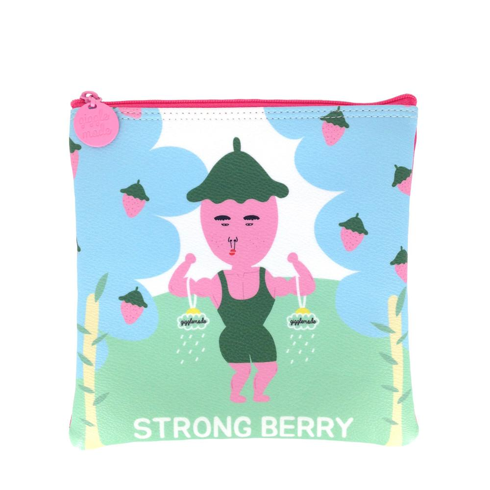 Giggle Mode, strong berry pouch (PU), Accessories