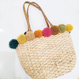Color MIX Basket Bag