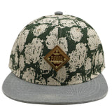Pamoa, Pamoa Pmcf590 Spotted Linen Snapback, Accessories