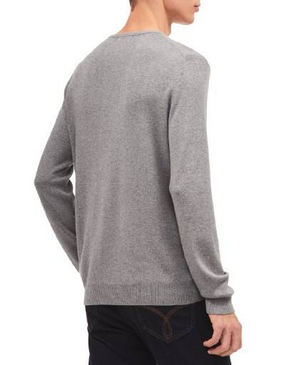 CALVIN KLEIN, Calvin Klein Cotton Modal Full Ne Axis Heather,