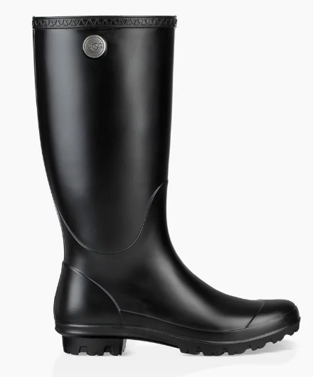 UGG Women Rain Boot SHELBY MATTE 1098249 - Black