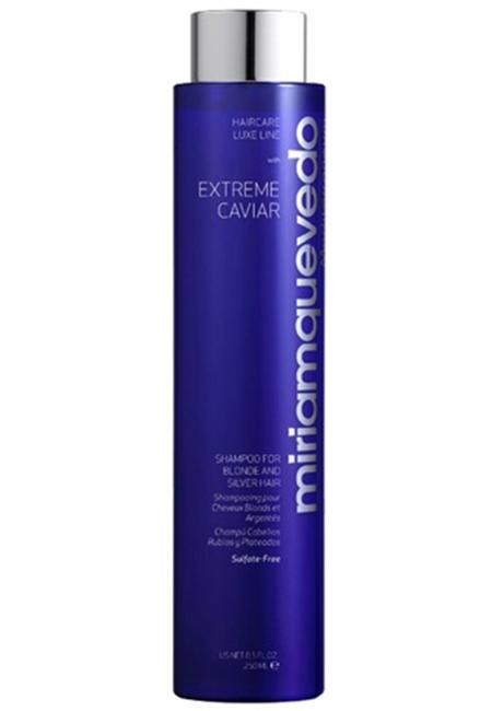 MIRIAM QUEVEDO Extreme Caviar Shampoo for Blonde and Silver Hair 250ML
