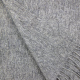 100% Cashmere Solid Scarf Cement