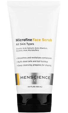 MEN SCIENCE - Microfine Face Scrub 4.4 oz